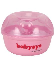 Babyoye Powder Puff With Storage Case - Pink