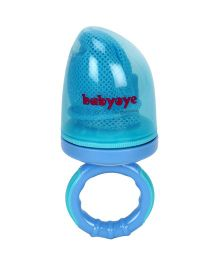 Babyoye Fruit Feeder With Net - Blue