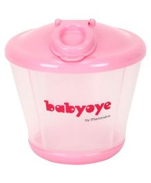 Babyoye Milk Powder Container - Pink