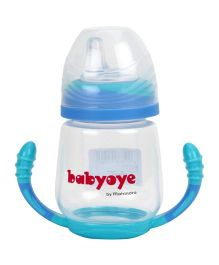 Babyoye Sipper Bottom Handle Blue - 210 ml
