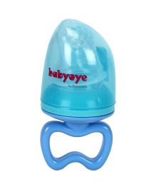 Babyoye Silicone Fruit Feeder - Blue
