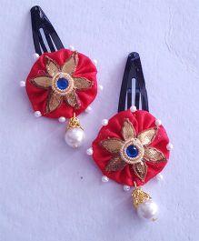 Soulfulsaai Gota Flower Tic Tacs - Red