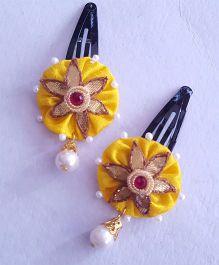 Soulfulsaai Gota Flower Tic Tacs - Yellow