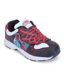 Marvel Spider Man Casual Shoes - Black Red