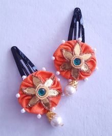 Soulfulsaai Gota Flower Tic Tacs - Orange