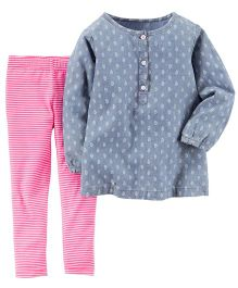 Carter's 2-Piece Top & Leggings Set