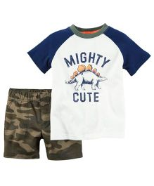 Carter's 2-Piece Jersey Tee & French Terry Short Set