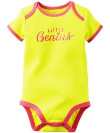 Carter's Little Genius Bodysuit