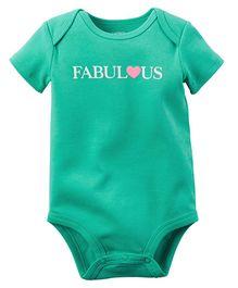 Carter's Fabulous Bodysuit