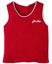 Fisher Price Apparel Sleeveless Round Neck Sweater - Red