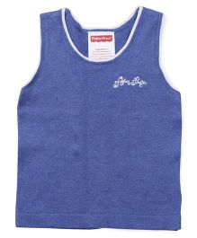 Fisher Price Apparel Sleeveless Round Neck Sweater - Royal Blue