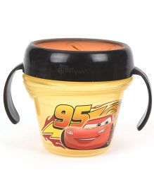 Disney International Pixar Cars Snack Bowl Yellow Black - 240 ml