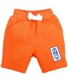 Ladybird Infant Short With Pockets - Orange
