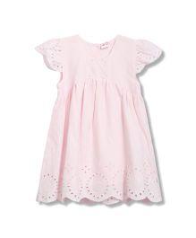 FS Mini Klub Short Sleeves Dress - Pink