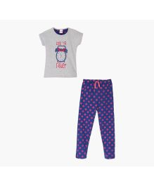 FS Mini Klub Pyjama Set - Grey And Blue