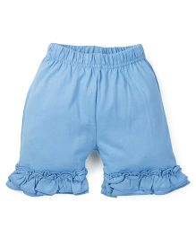 Oye Solid Colour Shorts - Blue