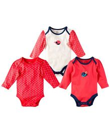 M&M Infant Onesie Multicolor - Pack Of 3