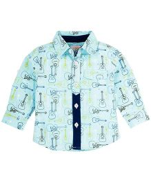 M&M Shirt With Print - Blue
