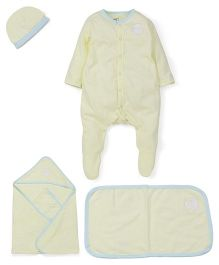 M&M Baby Basic Multi Pieces Set Pack Of 5 - Yellow