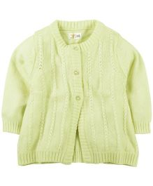 M&M Sweater With Detail - Lemon Yellow