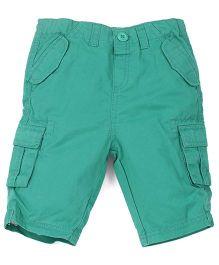 Babyoye Shorts With Pockets - Green
