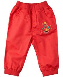 M&M Trouser With Artwork - Pink
