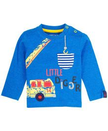 M&M Infant T-Shirt With Print - Royal Blue