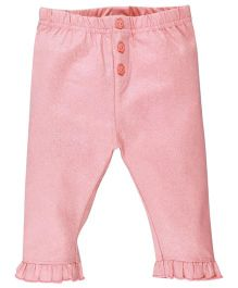 M&M Infant Shimmer Leggings - Pink