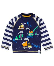M&M Infant T-Shirt With Print - Navy