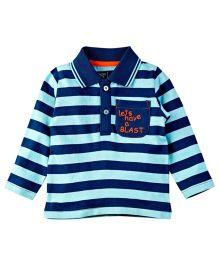M&M T-Shirt With Stripes - Multicololor