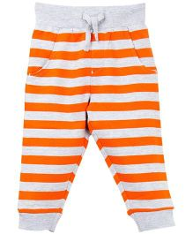 M&M Infant Fleece Track Pant  - Orange
