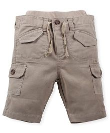 Babyoye  Shorts With Pockets - Beige