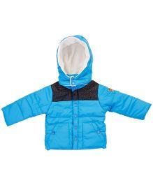 M&M Hooded Jacket - Turquoise