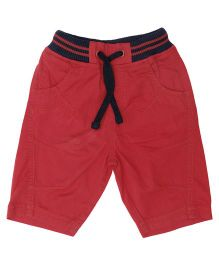 Babyoye Shorts Solid Color - Red