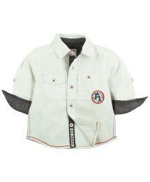 Babyoye Full Sleeves Shirt - White