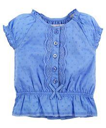 Babyoye Short Sleeves Top - Blue