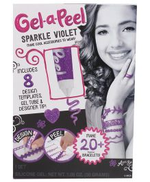 Gel-A-Peel Starter Kit Sparkle - Violet
