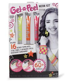 Gel-A-Peel Starter Kit Neon - Multicolor