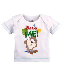 Warner Bros Printed T-Shirt - White
