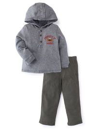 Carter's 2-Piece Hooded Top & French Terry Pant Set