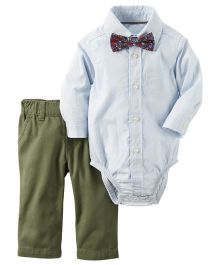 Carter's 2-Piece Button-Front Bodysuit & Pant Set