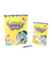 Chitra Animals Activity And Colouring Book