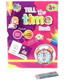 Chitra Tell The Time Book - Multicolor