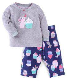 Carter's 2-Piece Cotton & Fleece PJs