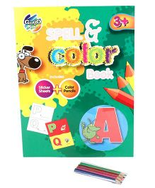 Chitra Spell And Color Book - Multicolor