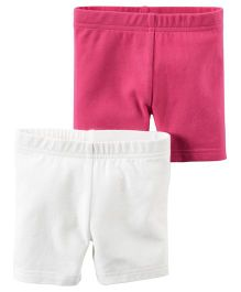 Carter's 2-Pack Stretch Jersey Bike Shorts
