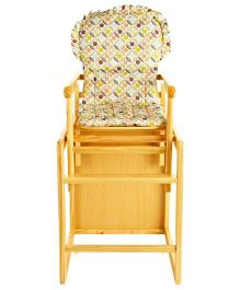 Acton Highchair Cum Studytable 2 in 1 - Yellow
