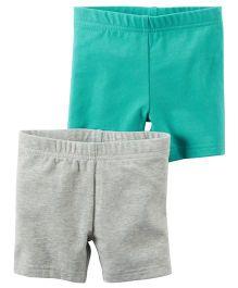 Carter's 2-Pack Stretch Jersey Bike Shorts