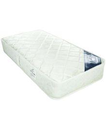Spring Air Comfort Rest Mattress Floral Design - White
