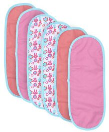 Babyoye Burp Cloth Pack Of 6 - Multicolor